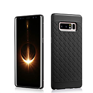 Недорогие Чехлы и кейсы для Galaxy Note 8-Кейс для Назначение SSamsung Galaxy Note 8 Защита от удара Кейс на заднюю панель Сплошной цвет Мягкий ТПУ для Note 8