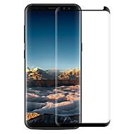 Недорогие Чехлы и кейсы для Galaxy S-Защитная плёнка для экрана Samsung Galaxy для S8 Закаленное стекло 1 ед. Защитная пленка для экрана 3D закругленные углы Против