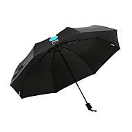 abordables Accesorios para la Lluvia-Tejido Hombre Soleado y lluvioso / A prueba de Viento / nuevo Paraguas de Doblar