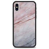 Недорогие Кейсы для iPhone 8-Кейс для Назначение Apple iPhone X iPhone 8 Plus С узором Кейс на заднюю панель Мрамор Твердый Акрил для iPhone X iPhone 8 Pluss iPhone 8