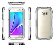 Недорогие Чехлы и кейсы для Galaxy S7-Кейс для Назначение SSamsung Galaxy S7 edge S7 Защита от удара Вода / Грязь / Надежная защита от повреждений Кейс на заднюю панель