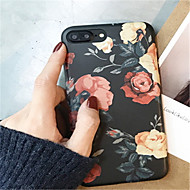 Case For Apple iPhone X iPhone 7 Plus Pattern Back Cover Flower Soft TPU for iPhone X iPhone 8 Plus iPhone 8 iPhone 7 Plus iPhone 7
