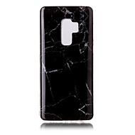 Недорогие Чехлы и кейсы для Galaxy S9 Plus-Кейс для Назначение SSamsung Galaxy S9 Plus / S9 IMD / С узором Кейс на заднюю панель Мрамор Мягкий ТПУ для S9 / S9 Plus / S8 Plus