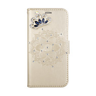 Недорогие Чехлы и кейсы для Galaxy S9-Кейс для Назначение SSamsung Galaxy S9 S9 Plus Бумажник для карт со стендом Флип С узором Рельефный Чехол Мандала Твердый Кожа PU для S9