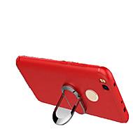 お買い得  携帯電話ケース-ケース 用途 Xiaomi Redmi 4X 耐衝撃 スタンド付き バックカバー 純色 ソフト シリコーン のために Xiaomi Redmi 4X