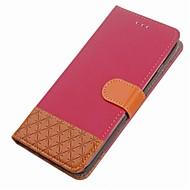 preiswerte Handyhüllen-Hülle Für Huawei Honor 9 Kreditkartenfächer Geldbeutel mit Halterung Flipbare Hülle Magnetisch Ganzkörper-Gehäuse Geometrische Muster Hart