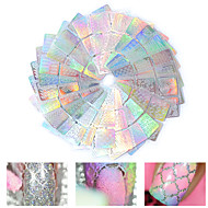 24 Stickers & Tapes Nail Sticker Foil Sticker Nail Decals Nail Art Tool