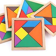 preiswerte Spielzeuge & Spiele-Holzpuzzle Ebene Klassisch Fokus Spielzeug Handgefertigt Hölzern 1pcs Universell Familie Spielzeug Baby Geschenk