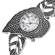 저렴한 -ASJ 여성용 패션 시계 캐쥬얼 시계 일본어 석영 캐쥬얼 시계 합금 밴드 우아한 패션 실버