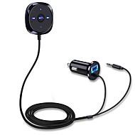 bluetooth audio přijímač handsfree handsfree sada do auta mp3 aux usb nabíječka do auta drop