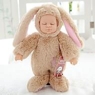 abordables Muñecas y Peluches-Muñecas reborn Bebés Niñas 10 pulgada Cuerpo completo de silicona Silicona Kid de Unisex / Chica Juguet Regalo