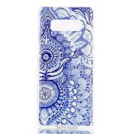Недорогие Чехлы и кейсы для Galaxy Note-Кейс для Назначение SSamsung Galaxy Note 8 С узором Кейс на заднюю панель Кот Цветы Ловец снов Мягкий ТПУ для Note 8