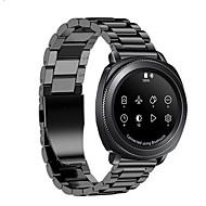 Недорогие Аксессуары для смарт-часов-Ремешок для часов для Gear S2 Classic Samsung Galaxy Современная застежка Металл Нержавеющая сталь Повязка на запястье