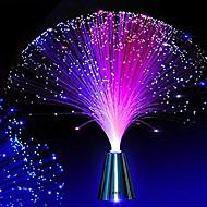 お買い得  LED アイデアライト-hkv®光ファイバー夜間照明ランプの色の変化小さな夜の光の結婚式のクリスマスパーティの家の装飾