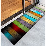 abordables Alfombras y moquetas-Las alfombras de área Ciudad / Modern Franela de Algodón, Rectángulo Calidad superior Alfombra / Látex antideslizante