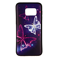 Case For Samsung Galaxy S8 / S7 Pattern Back Cover Butterfly Soft TPU for S8 / S7 edge / S7