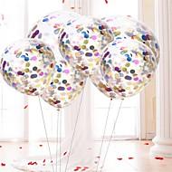 abordables Decoraciones de Celebraciones y Fiestas-Esfera Transparente / Cumpleaños Cumpleaños Decoraciones del partido 10pcs