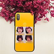 halpa -Etui Käyttötarkoitus Apple iPhone X iPhone 8 Iskunkestävä Takakuori Sexy Lady Kova Karkaistu lasi varten iPhone X iPhone 8 Plus iPhone 8