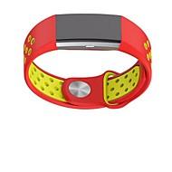 Недорогие Аксессуары для смарт-часов-Ремешок для часов для Fitbit Charge 2 Fitbit Современная застежка силиконовый Повязка на запястье