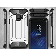 Недорогие Чехлы и кейсы для Galaxy S-Кейс для Назначение SSamsung Galaxy S9 S9 Plus броня Кейс на заднюю панель броня Твердый Металл для S9 Plus S9 S8 Plus S8 S7 edge S7