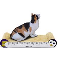 abordables Accesorios y Ropa para Gatos-Almohadilla para Arañar Multicolor Almohadilla para Arañar Ayuda a perder peso Nébeda Cartón de papel Para Gatos