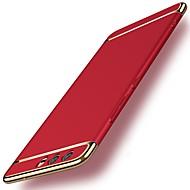 tok Για Huawei P10 Plus / P10 Ανθεκτική σε πτώσεις / Επιμεταλλωμένη Πίσω Κάλυμμα Μονόχρωμο Σκληρή PC για P10 Plus / P10 Lite / P10