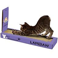 abordables Juguetes para Gatos-Cat Nip Camas Simple Amigable con las Mascotas Almohadilla para Arañar Sin Parabeno Sin Formol Nébeda Cartón de papel Para Gatos
