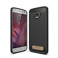 お買い得  携帯電話ケース-ケース 用途 Motorola Z2 play つや消し バックカバー ソリッド ソフト TPU のために Moto Z2 play