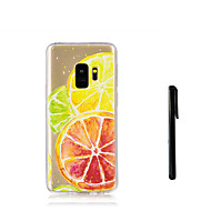 Недорогие Чехлы и кейсы для Galaxy S9-Кейс для Назначение SSamsung Galaxy S9 S9 Plus Полупрозрачный Кейс на заднюю панель Фрукты Мягкий ТПУ для S9 Plus S9 S8 Plus S8 S7 edge S7