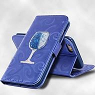 halpa Galaxy S5 Mini kotelot / kuoret-Etui Käyttötarkoitus Samsung Galaxy S8 Plus S8 Korttikotelo Lomapkko Tuella Virtaava neste Suojakuori Yhtenäinen väri Kova PU-nahka varten