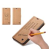 Недорогие Кейсы для iPhone 8 Plus-Кейс для Назначение Apple iPhone X iPhone 8 Бумажник для карт Кошелек Флип Своими руками Чехол Однотонный Твердый Кожа PU для iPhone X