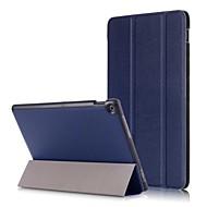 お買い得  携帯電話ケース-ケース 用途 Asus ZenPad 10 Z301MF ZenPad 10 Z301M スタンド付き 磁石バックル 折りたたみ式 フルボディーケース ソリッド ハード PUレザー のために ASUS ZenPad 10 Z301ML ASUS ZenPad 10