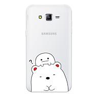 Χαμηλού Κόστους Galaxy J3 Θήκες / Καλύμματα-tok Για Samsung Galaxy J7 (2017) J7 (2016) Με σχέδια Πίσω Κάλυμμα Κινούμενα σχέδια Μαλακή TPU για J7 (2017) J7 (2016) J7 J5 (2017) J5