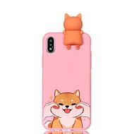 Недорогие Кейсы для iPhone 8-Кейс для Назначение Apple iPhone X iPhone 8 С узором Своими руками Кейс на заднюю панель С собакой Мягкий ТПУ для iPhone X iPhone 8 Pluss