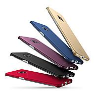 Недорогие Чехлы и кейсы для Galaxy S8-Кейс для Назначение SSamsung Galaxy S8 Plus S8 Матовое Кейс на заднюю панель Сплошной цвет Твердый ПК для S8 Plus S8 S7 edge S7