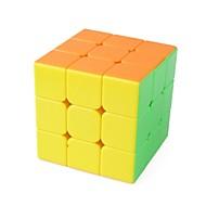 お買い得  -ルービックキューブ 1 PCSの Shengshou D00932 レインボーキューブ 3*3*3 スムーズなスピードキューブ マジックキューブ パズルキューブ グロス ファッション ギフト 男女兼用