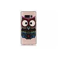 Недорогие Чехлы и кейсы для Galaxy Note-Кейс для Назначение SSamsung Galaxy Note 8 С узором Кейс на заднюю панель Мультипликация Животное Мягкий ТПУ для Note 8