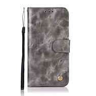 Недорогие Чехлы и кейсы для Galaxy S8-Кейс для Назначение SSamsung Galaxy S9 S9 Plus Бумажник для карт Кошелек Флип Магнитный Чехол Однотонный Твердый Кожа PU для S9 Plus S9