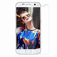 Недорогие Чехлы и кейсы для Galaxy S-Защитная плёнка для экрана для Samsung Galaxy S7 Закаленное стекло 1 ед. Защитная пленка для экрана Уровень защиты 9H / Защита от царапин