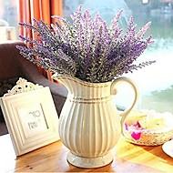 abordables Flores Artificiales-Flores Artificiales 1 Rama Estilo moderno Lavanda Flor de Mesa