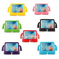 olcso iPad tokok-Case Kompatibilitás Apple iPad Mini 4 iPad Mini 3/2/1 iPad 4/3/2 iPad Air 2 iPad Air Ütésálló Gyermekbiztos Héjtok Tömör szín Kemény EVA