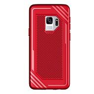 Недорогие Чехлы и кейсы для Galaxy S9 Plus-Кейс для Назначение SSamsung Galaxy S9 S9 Plus Рельефный Кейс на заднюю панель Однотонный Мягкий ТПУ для S9 Plus S9