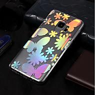 Недорогие Чехлы и кейсы для Galaxy S8-Кейс для Назначение SSamsung Galaxy S9 / S9 Plus Покрытие / С узором Кейс на заднюю панель Бабочка Мягкий ТПУ для S9 Plus / S9 / S8 Plus