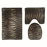 abordables Alfombras y moquetas-1pc Modern Las alfombras de área Poliéster Contemporáneo Baño Fácil de limpiar