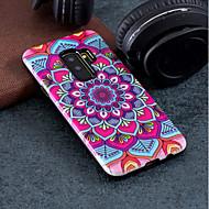 Недорогие Чехлы и кейсы для Galaxy S7-Кейс для Назначение SSamsung Galaxy S9 Plus / S9 С узором Кейс на заднюю панель Мандала Твердый ПК для S9 / S9 Plus / S8 Plus