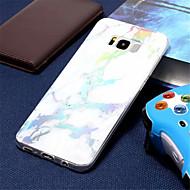 Недорогие Чехлы и кейсы для Galaxy S8 Plus-Кейс для Назначение SSamsung Galaxy S9 / S7 Покрытие Кейс на заднюю панель Мрамор Мягкий ТПУ для S9 / S9 Plus / S8 Plus