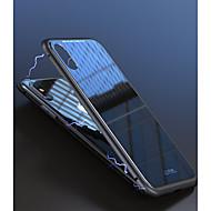Недорогие Кейсы для iPhone 8-Кейс для Назначение Apple iPhone X / iPhone 8 / iPhone 8 Plus Защита от удара / Магнитный Кейс на заднюю панель Однотонный Твердый