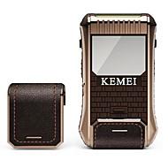 abordables Maquinilla Eléctrica-Kemei Máquinas de afeitar eléctricas for Hombre 100-240V Múltiples Funciones / Diseño portátil / Ligero y Conveniente