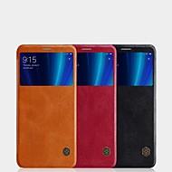 お買い得  携帯電話ケース-ケース 用途 Xiaomi Mi 6X カードホルダー / ウィンドウ付き / フリップ フルボディーケース ソリッド ハード PUレザー のために Xiaomi Mi 6X(Mi A2)