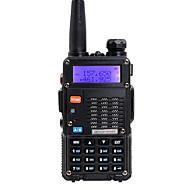 お買い得  -BAOFENG トランシーバー ハンドヘルド デュアルバンド 5KM-10KM 5KM-10KM トランシーバー 双方向ラジオ